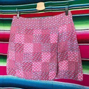 Vineyard Vines Patch Wrap Summer Mini Skirt